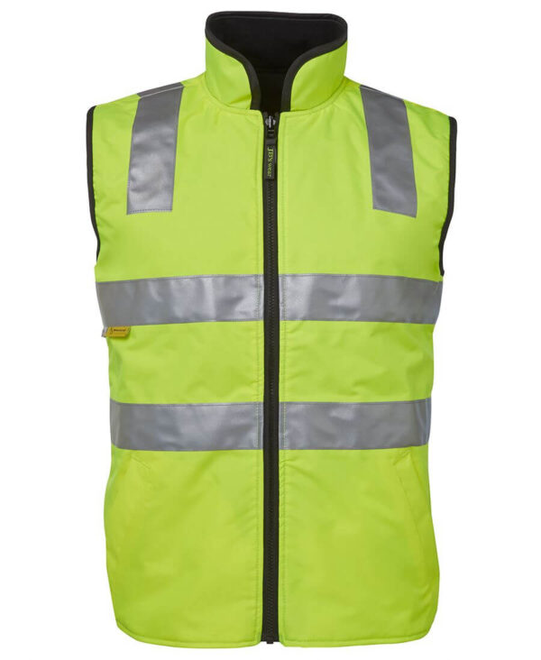 HiVis Reversible Thermal Safety Vest