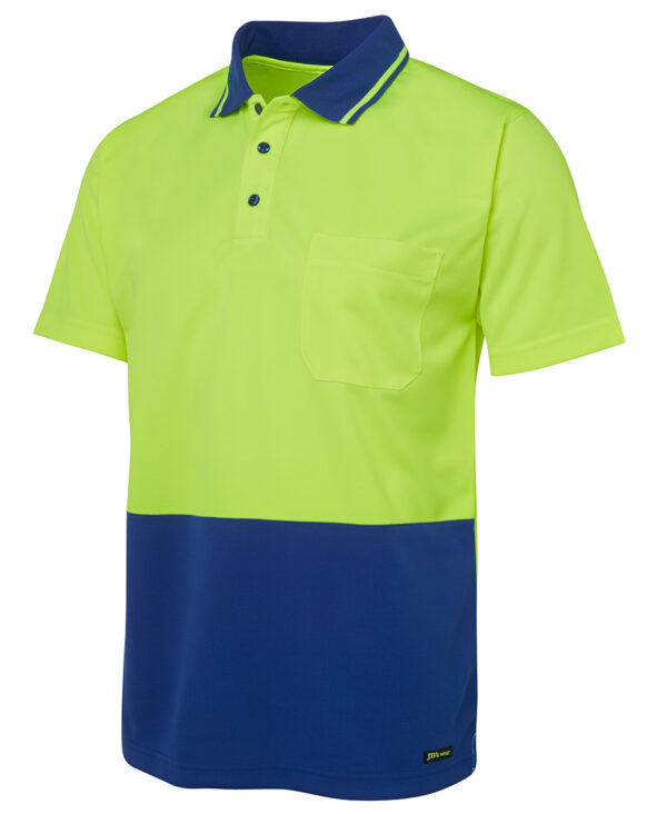 6HVNC HiVis Short Sleeve Polo Shirt