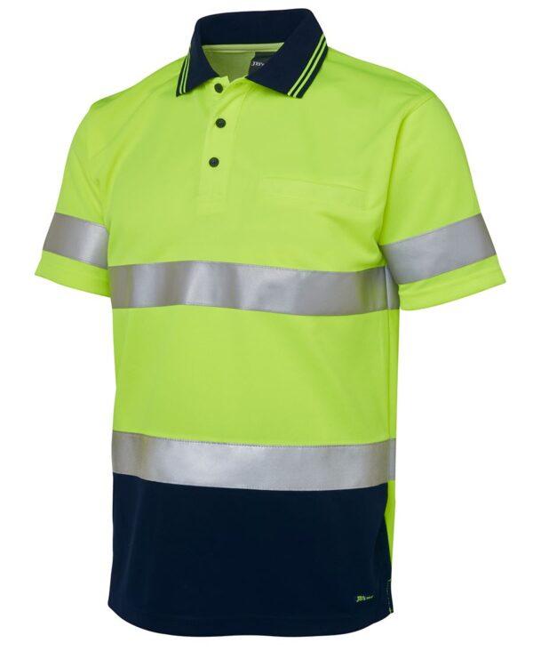 HiVis Short Sleeve (D+N) Polo
