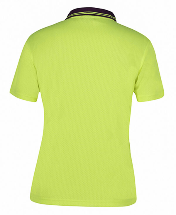 Ladies HiVis Short Sleeve Polo