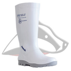 Shova Anti-Bacterial Non-Safety Gumboot White