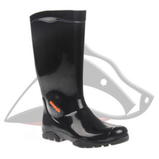 Shova Non-Safety Gumboot Black