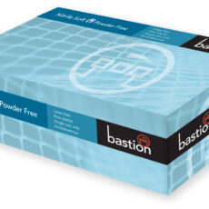 Bastion BNG7831 Nitrile Soft Blue Gloves, Powder Free