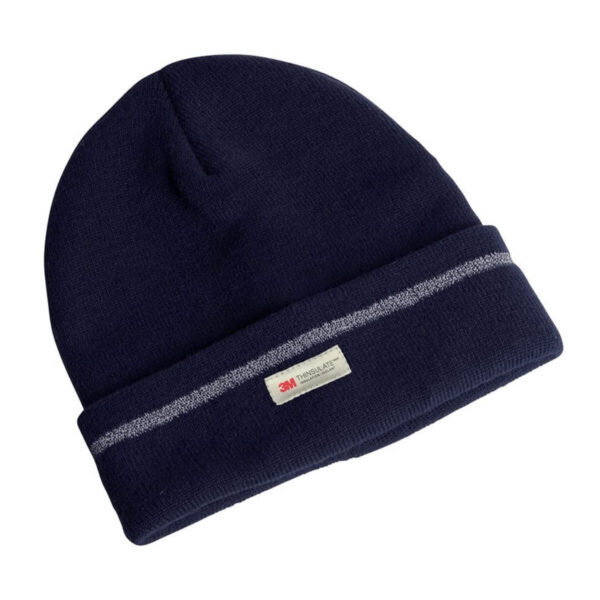 Navy thermal insulated beanie