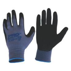 Black Panther Nylon Gloves, Latex Grip