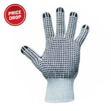 Polka Dot PolyCotton Knitted Glove – 12 pack