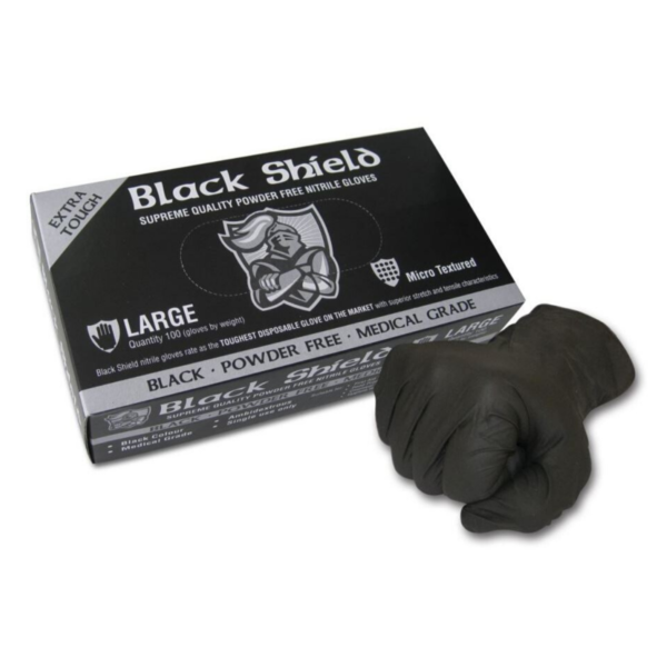 Nitrile Heavy Duty Gloves, Powder Free