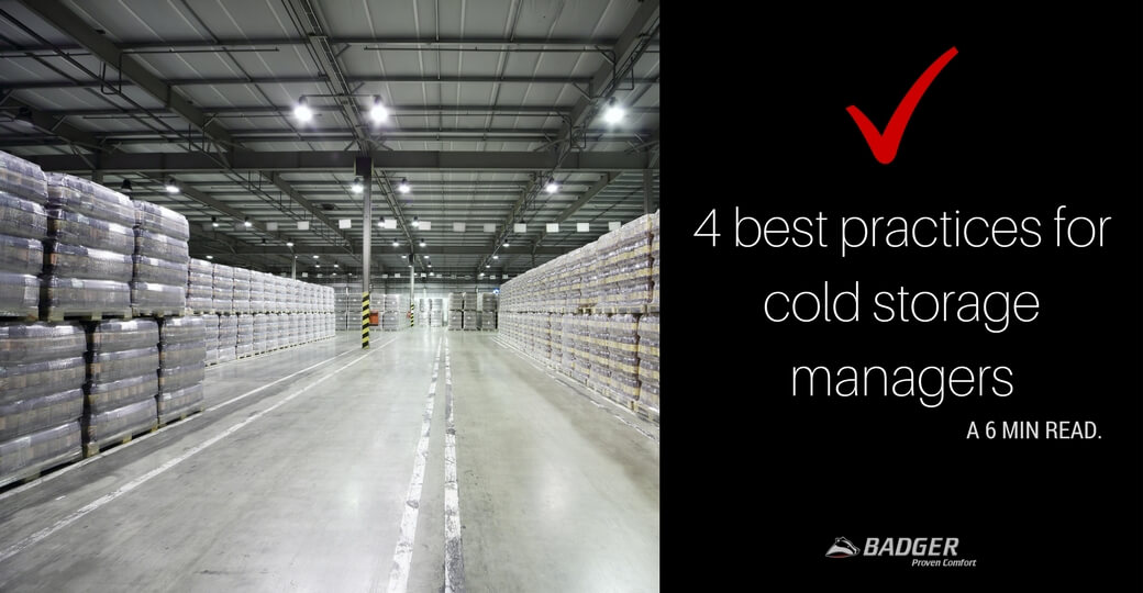 4 best practices for cold storage and food warehouse