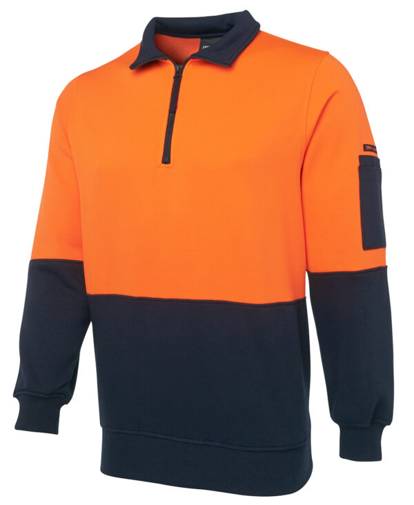 HiVis Zip Fleecy Sweater