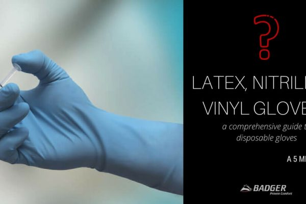 LATEX VS NITRILE VS VINYL GLOVES
