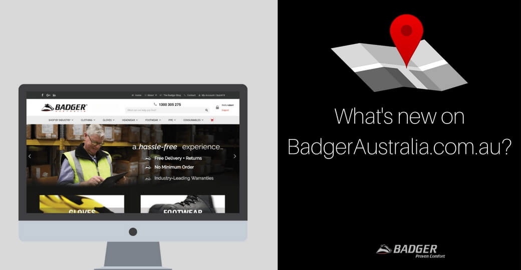 What's new on BadgerAustralia.com.au