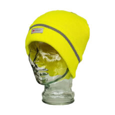 Fluro Reflective Thermal Beanie