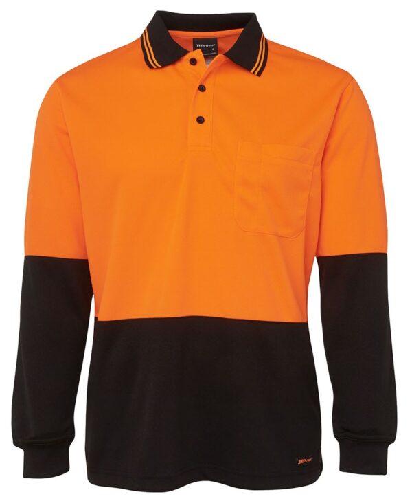 HiVis Long Sleeve Polo