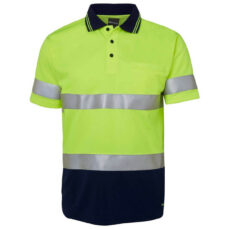 6HVST HiVis Short Sleeve Polo Shirt