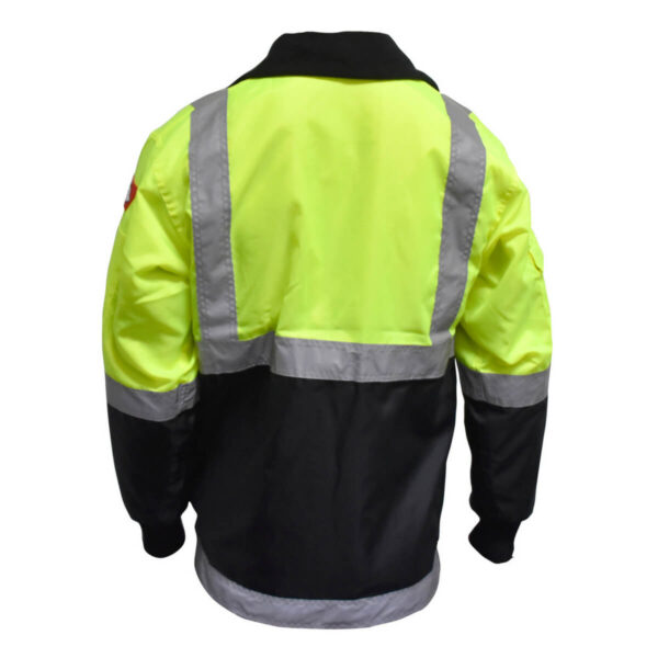 Sub zero industry hi vis jacket - back