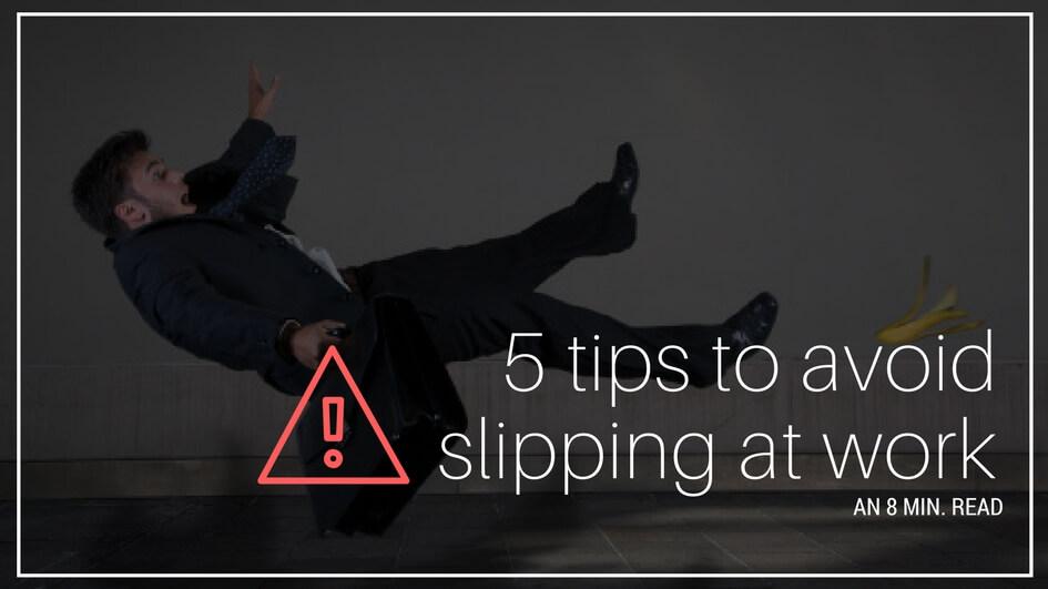 slipping at work