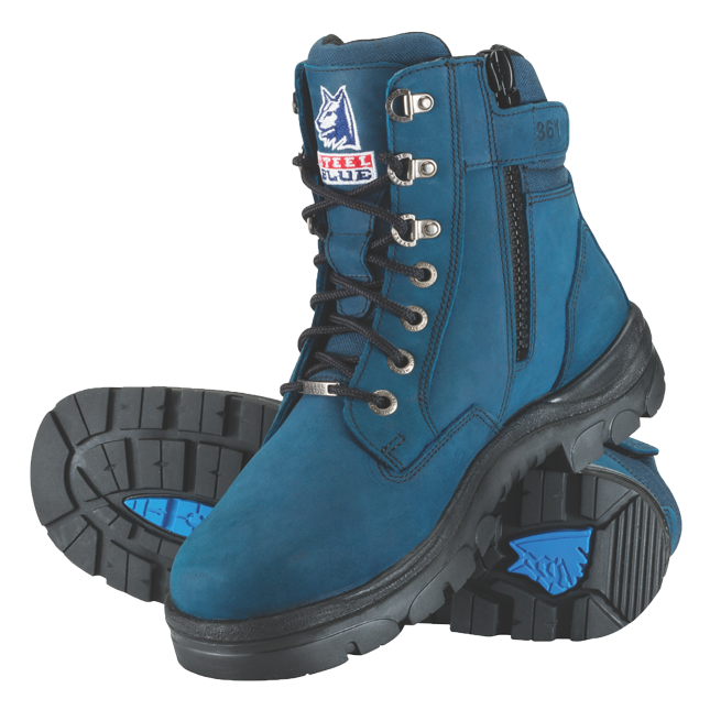 select for clearance choose authentic search for official Steel Blue Southern Cross Zip Safety Boot