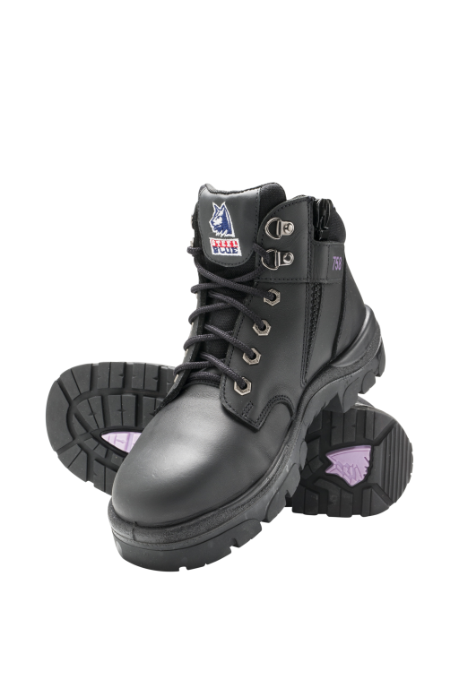 4793b9912a9 Steel Blue Parkes Zip Ladies Safety Boot