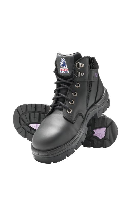 79eedc7e7b1 Steel Blue Parkes Zip Ladies Safety Boot