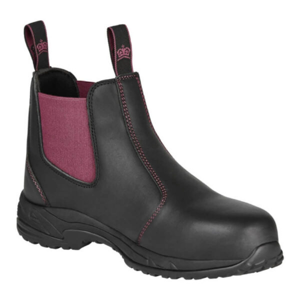 womens slip on work boots