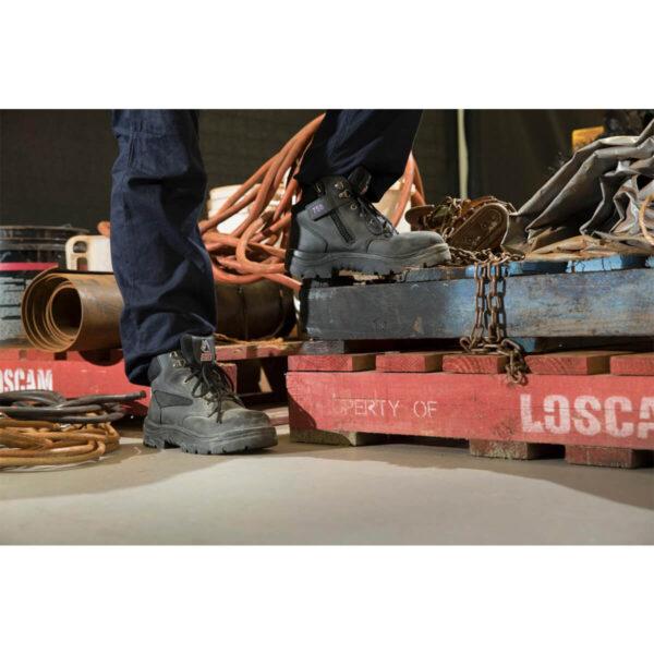 Steel Blue Parkes Zip Ladies Safety Boot