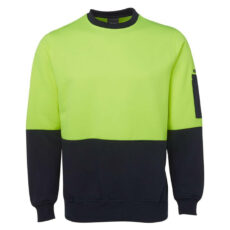 HiVis Crew Neck Fleecy Jumper