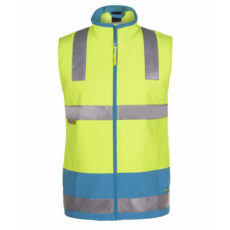 JB's 6D4LK Waterproof HiVis Softshell Warm Safety Vest