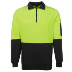HiVis Zip Fleecy Jumper