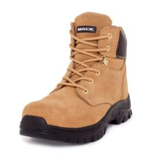 Mack Carpenter Safety Boots -Honey.Oblique