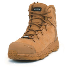 Mack Octane-Zip Safety Boots -Honey.Oblique