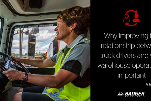 Why improving the relationship between truck drivers and your warehouse operators is important (1)