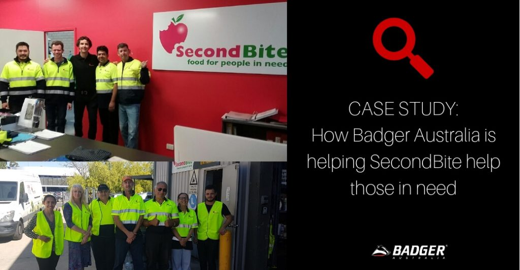 CASE STUDY_ How Badger Australia is helping SecondBite help those in need