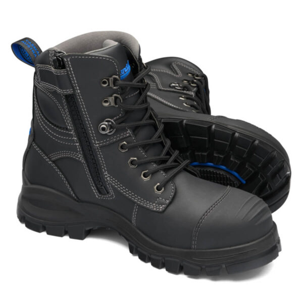 Blundstone 997 Zip Side Safety Boot