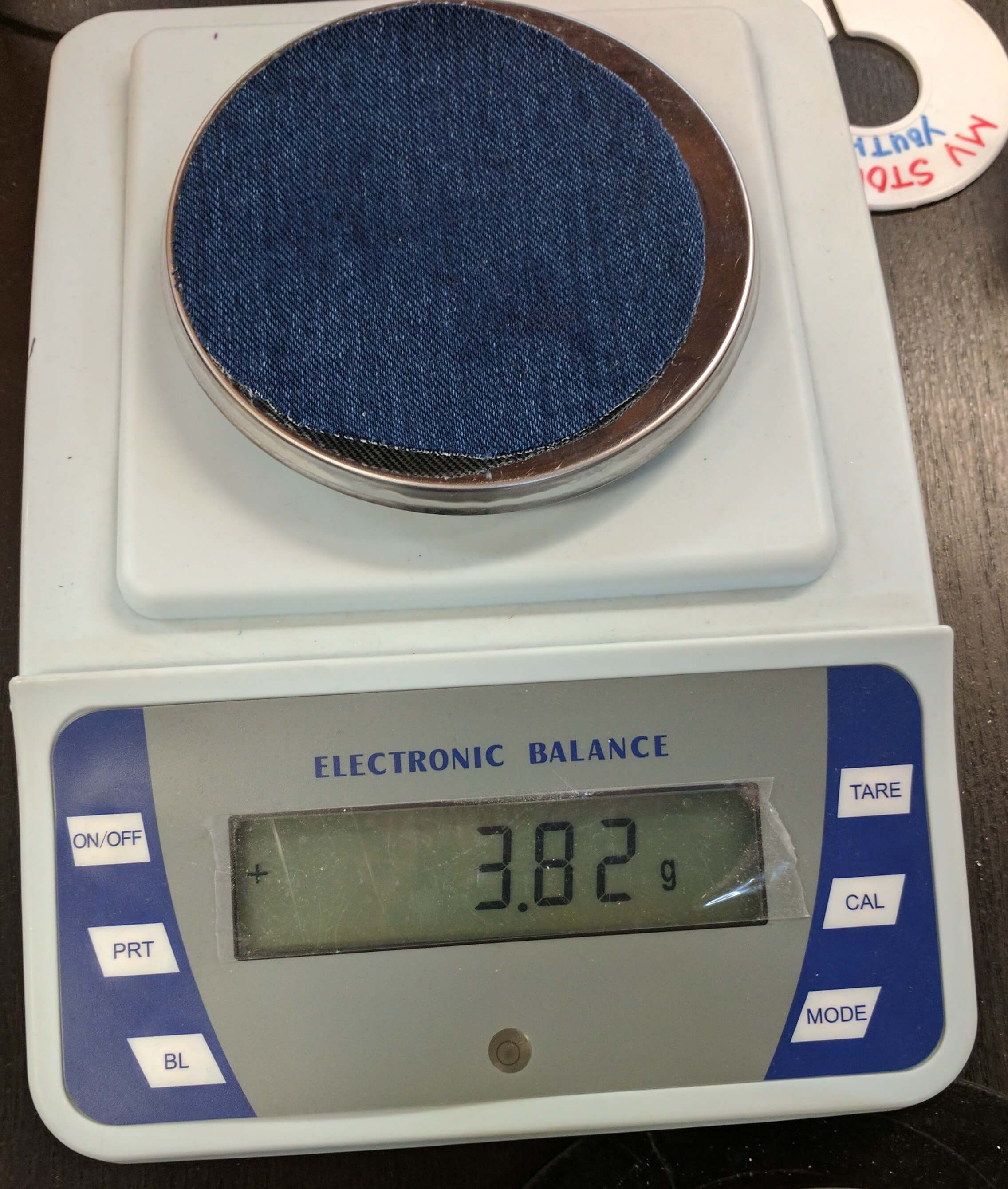 workwear fabric weight scales