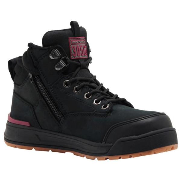Hard Yakka 3056 Women's Zip Sided Safety Boot