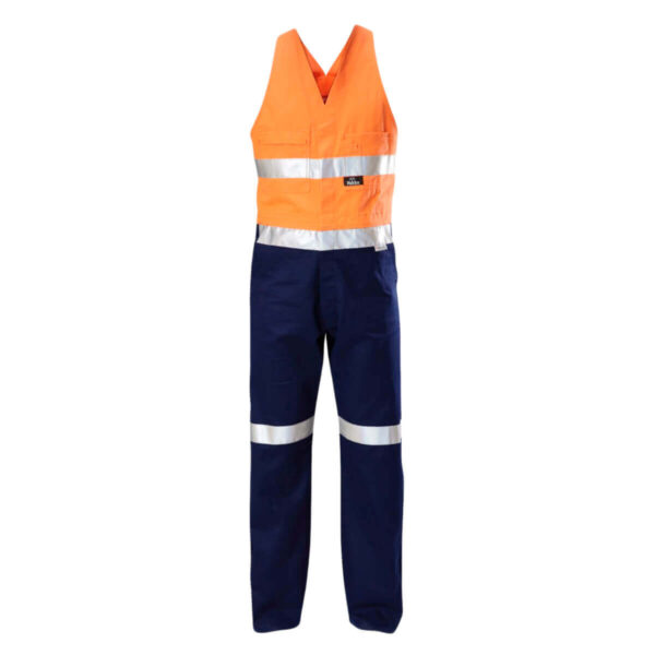 Hard Yakka HiVis Action Back (D+N) Overalls