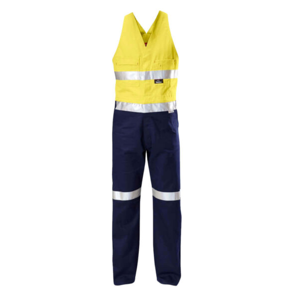 HiVis Action Back (D+N) Overalls