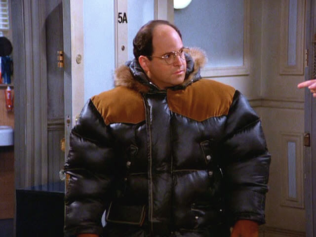 big bulky freezer jacket