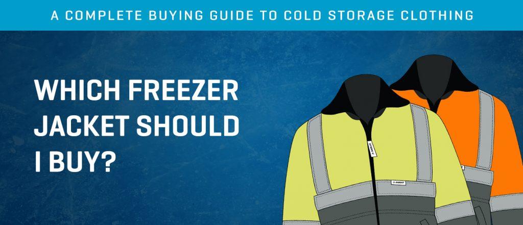 which freezer jacket should i buy badger