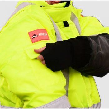 freezer jacket pockets