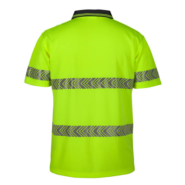 HiVis Short Sleeve Segmented (D+N) Polo