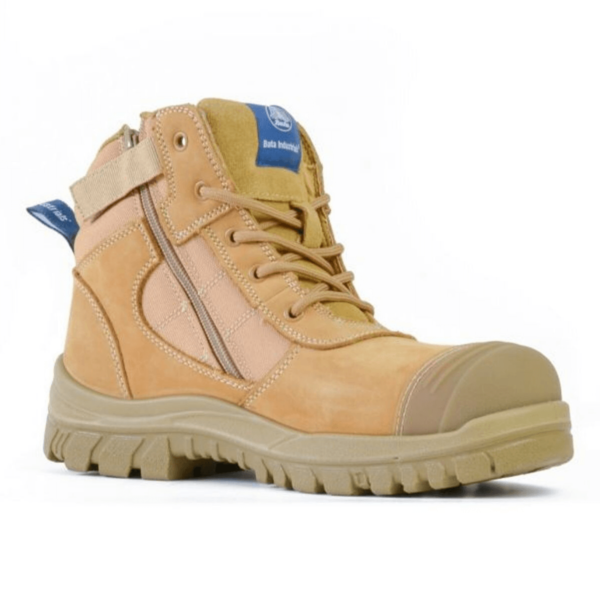 Bata Zippy Zip Side Safety Boot