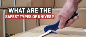 What are the safest types of knives?