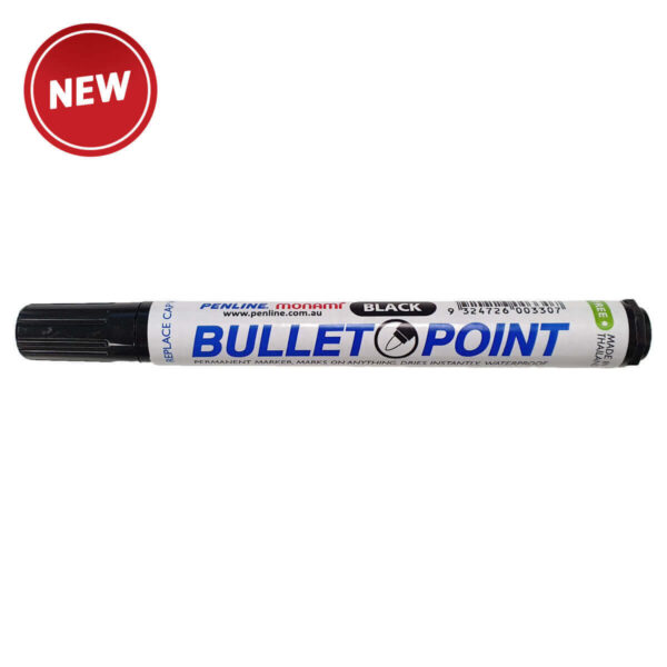 Penline Heavy Duty Bullet Point Marker/Box 12