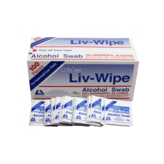 Liv-Wipe, 65 x 30mm (Carton of 50 Boxes)