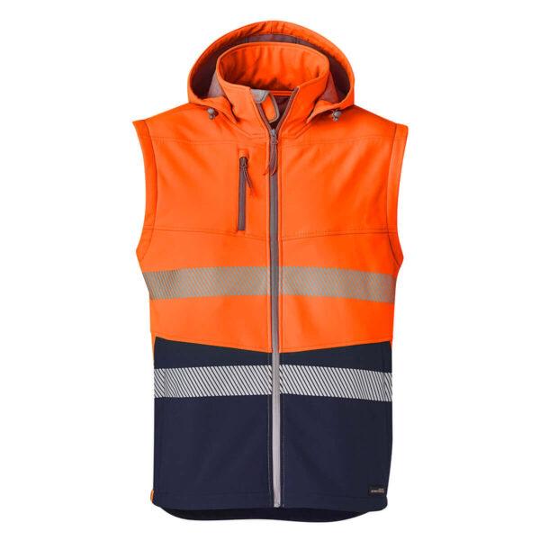 Syzmik 2 in 1 Softshell Segmented (D+N) Jacket