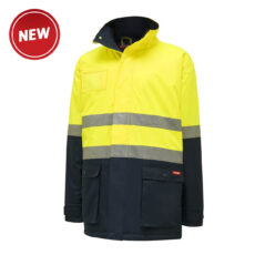 Hard Yakka HiVis Quilted (D+N) Jacket