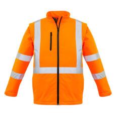 Syzmik HiVis 2 in 1 X-Back Softshell Jacket