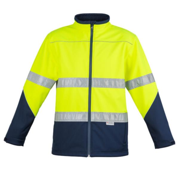 Syzmik Unisex Hivis Softshell (D+N) Jacket