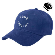 Premium Soft Cotton Cap with Printed Front Logo